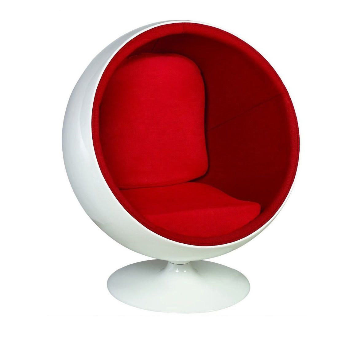 Kids Ball Chair Plata Décor Import Mini Ball Chair For Kids In Red