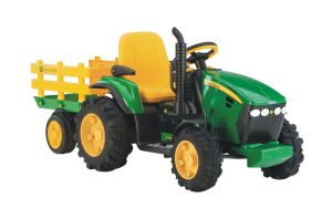 Peg Perego John Deere Ground Force Rideon Tractor with