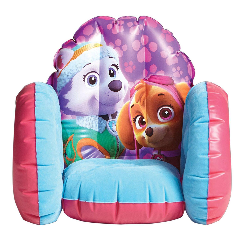 inflatable chair canada modern grey leather chairs paw patrol skye walmart