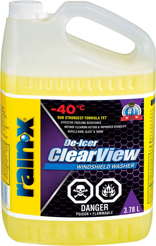 Washer Fluid Walmart : washer, fluid, walmart, Rain-X, ClearView, De-Icer, Windshield, Washer, Fluid, -40°C, Walmart, Canada