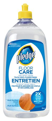 Pledge with Future Premium Floor Finish  Walmart Canada
