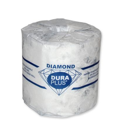duraplus diamond 2 ply quality bathroom tissue | walmart canada