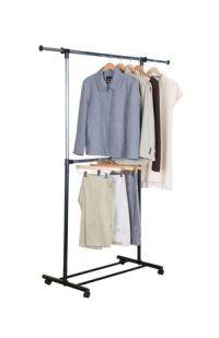 Mainstays 2 Tier Adjustable Garment Rack | Walmart.ca
