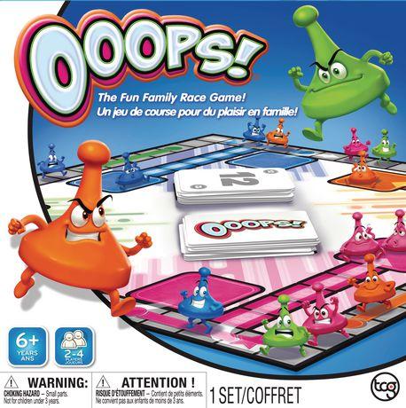 Tcg Ooops Board Game Walmart Canada