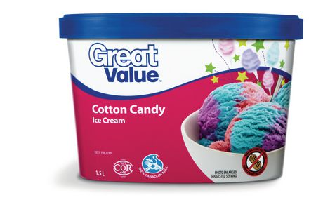 great value cotton candy