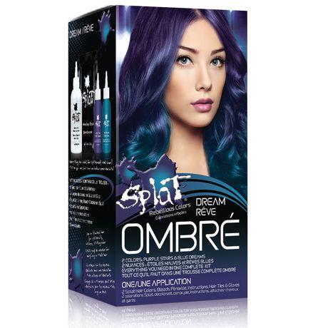 splat ombr dream colour & bleach