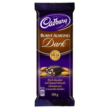 Cadbury Dairy Milk Burnt Almond Premium Dark Chocolate ...