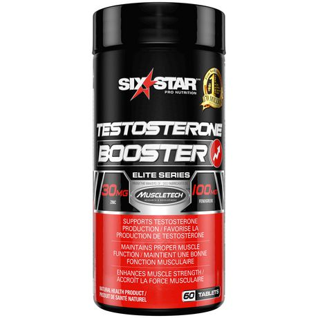 Six Star Elite Series Testosterone Booster Tablets ...