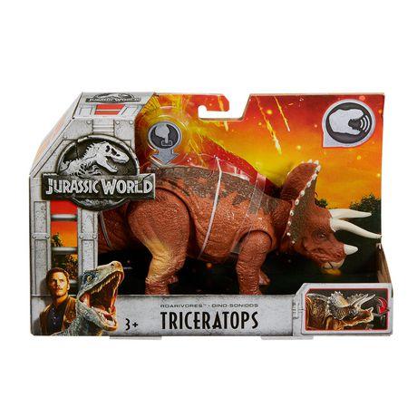 Jurassic World Roarivores Triceratops Walmart Canada