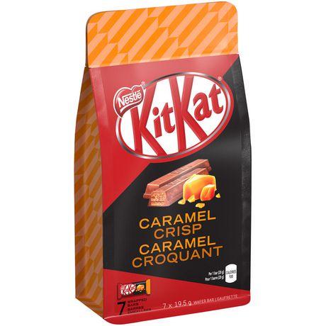 Kit Kat NESTLÉ® KITKAT® Caramel Crisp Wrapped Bars ...