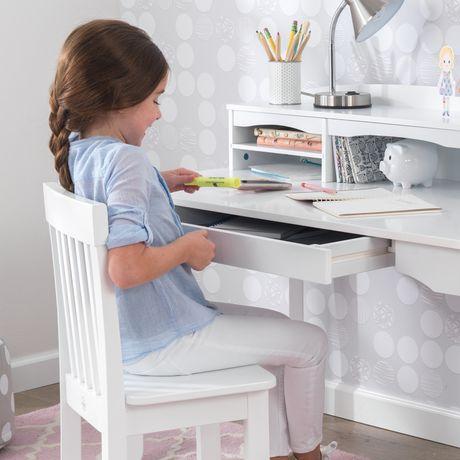 Kidkraft White Avalon Desk with Hutch  Walmart Canada