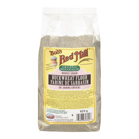 Bob39s Red Mill Organic Whole Grain Buckwheat Flour 623 g