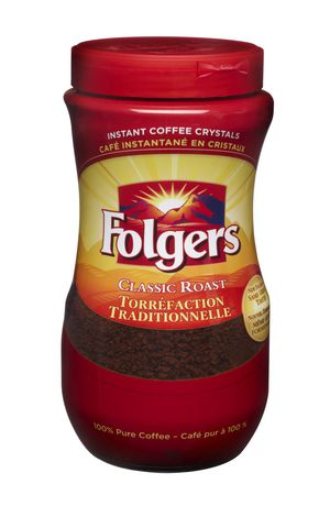 Folgers Classic Roast Instant Coffee Crystals Walmart Canada