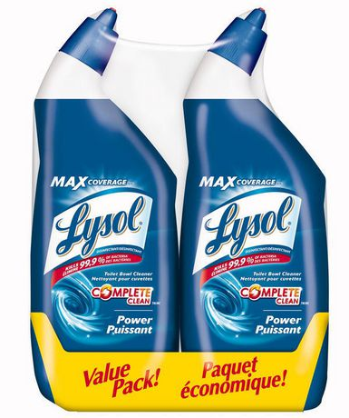 Lysol Power Toilet Bowl Cleaner Value Pack  Walmart Canada