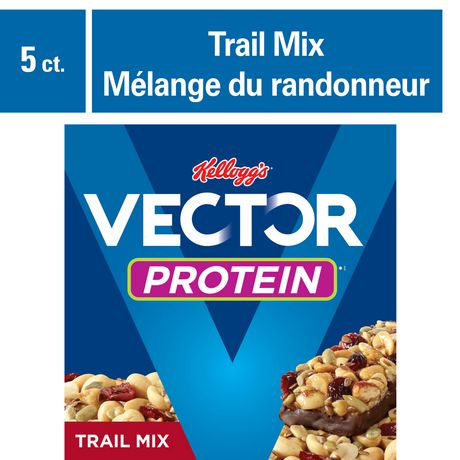Kelloggs Vector Protein Chewy bar Trail Mix 200g 5