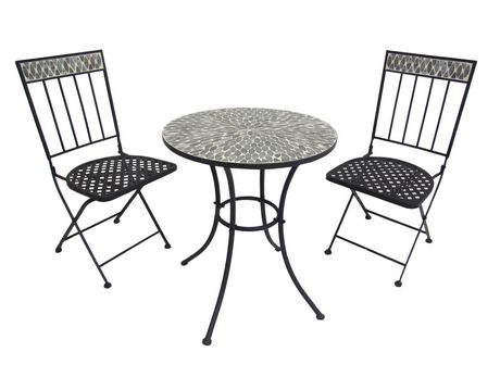 3 Piece Bistro Set Outdoor 3 Piece Table And Chair Set