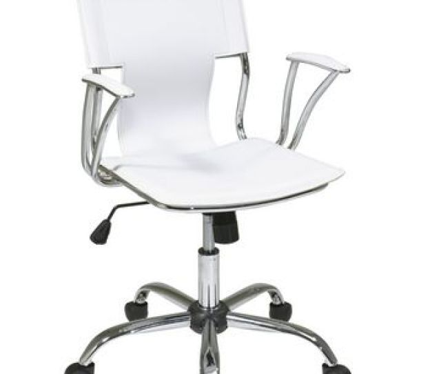 Office Star Products Dorado White Office Chair Image