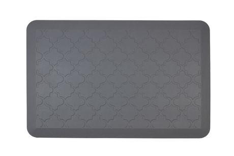 grey kitchen mat lowes delta faucets hometrends anti fatigue walmart canada