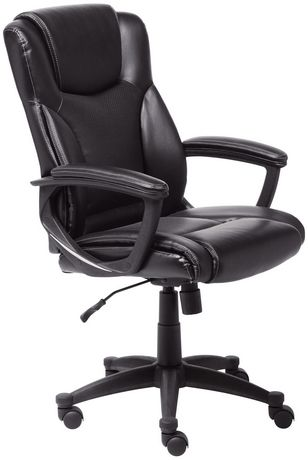 Broyhill Executive Office Chair Black  Walmart Canada