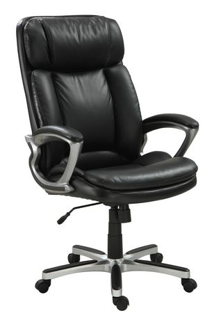 Broyhill Executive BigTall Chair Black  Walmart Canada