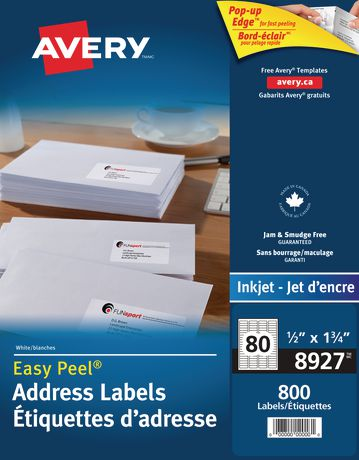 avery address labels walmart