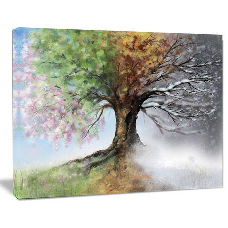 design art tree with