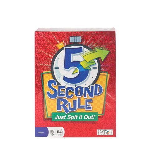 5 Second Rule Board Game Walmart Canada