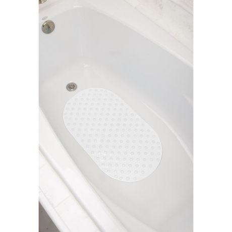 tapis de baignoire ovale mainstays a bulles