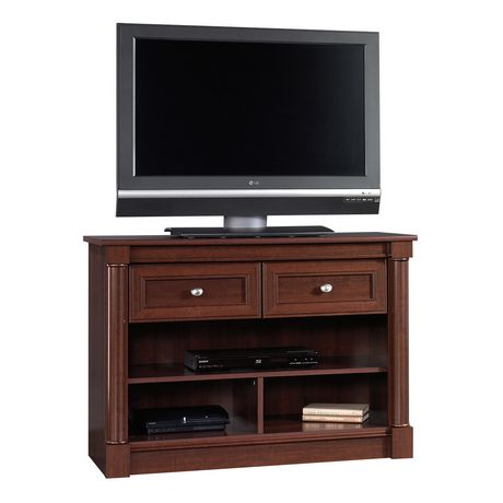 Sauder Highboy TV Stand Select Cherry Finish 412317
