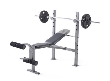 Banc Dexercice XR 61 De Golds Gym Walmartca