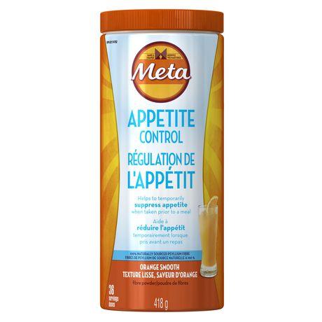 Metamucil Appetite Control Fiber Supplement Powder ...