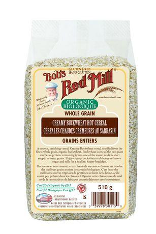 Bob39s Red Mill Organic Whole Grain Creamy Buckwheat Hot