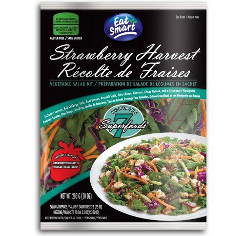 Eat Smart Strawberry Harvest Vegetable Salad Kit Walmart