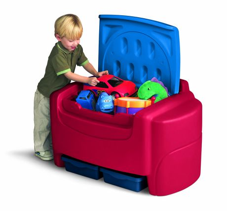 Little Tikes Blue Red Toy Chest Walmart Canada