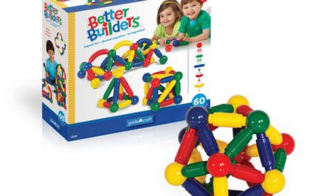 Guidecraft Better Builders Magnetic Construction Toy