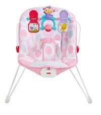 Fisher-Price Baby's Bouncer - Pink Ellipse | Walmart.ca