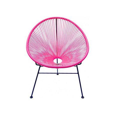 heavenly collecion pink patio chair