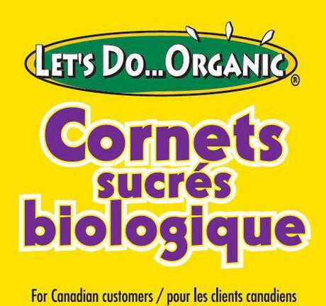 Let39s Do Organic Sugar Ice Cream Cones Walmartca