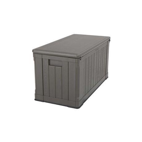 boite de rangement exterieur robuste pour terrasse de lifetime