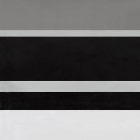 rideau ou doublure de rideau de douche a rayures james en peva mainstays 178 cm x 183 cm 70 po x 72 po noir