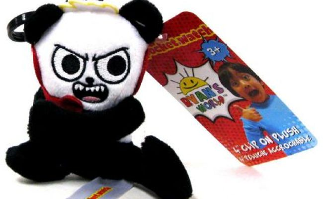 Ryan S World Ryan Clip On Plush Combo Panda Walmart