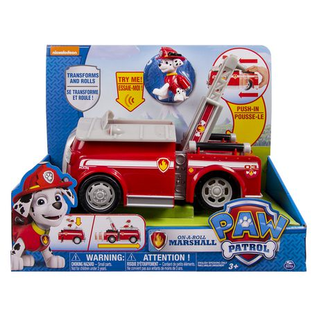 Paw Patrol On A Roll Marshall Toy Vehicle With Action