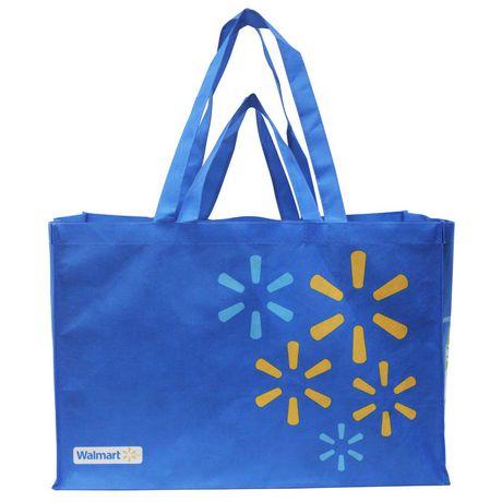 Walmart Large Format Reusable Shopping Bag Walmartca