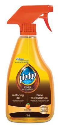 Pledge Furniture Cleaner & Polish with Natural Orange Oil ...