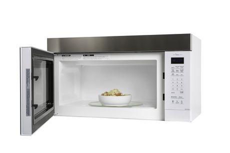 panasonic nnst27hw genius prestige plus over the range microwave 2 0 cu ft