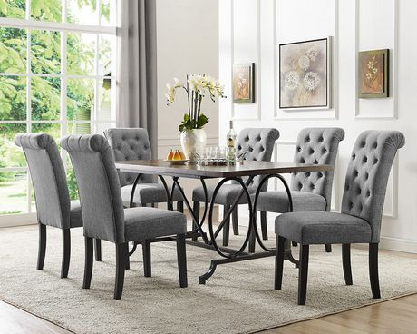 images of grey living room furniture best place to buy brassex inc soho 7 piece dining set table 6 chairs walmart canada
