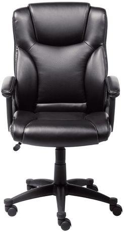 Broyhill Executive Office Chair Black  Walmart Canada