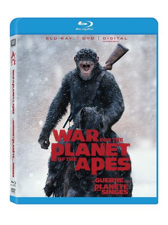 War For Planet Of The Apes Blu Ray DVD Digital HD
