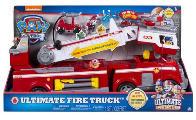 Paw Patrol Ultimate Rescue Fire Truck Toy Top 25 Toy