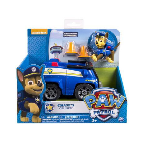 Paw Patrol Chase Cruiser Toy Vehicle Walmart Canada